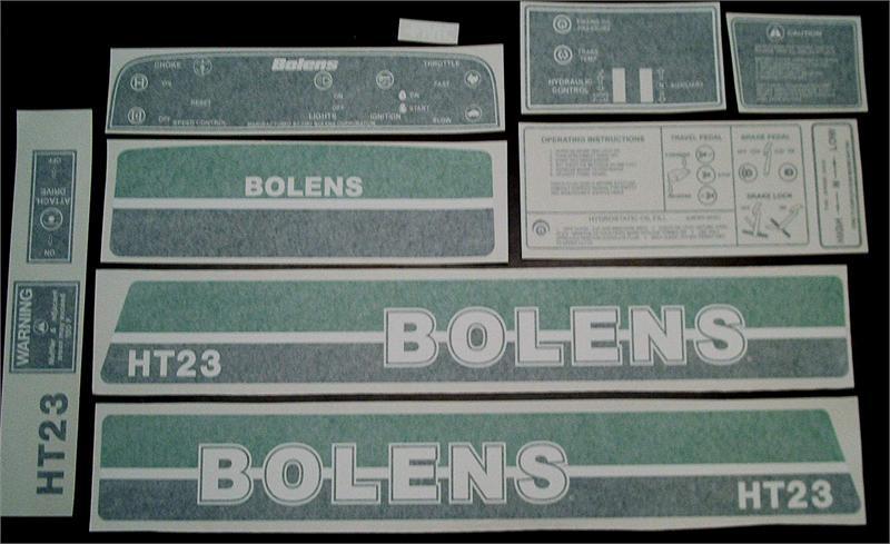 Bolens Ht23