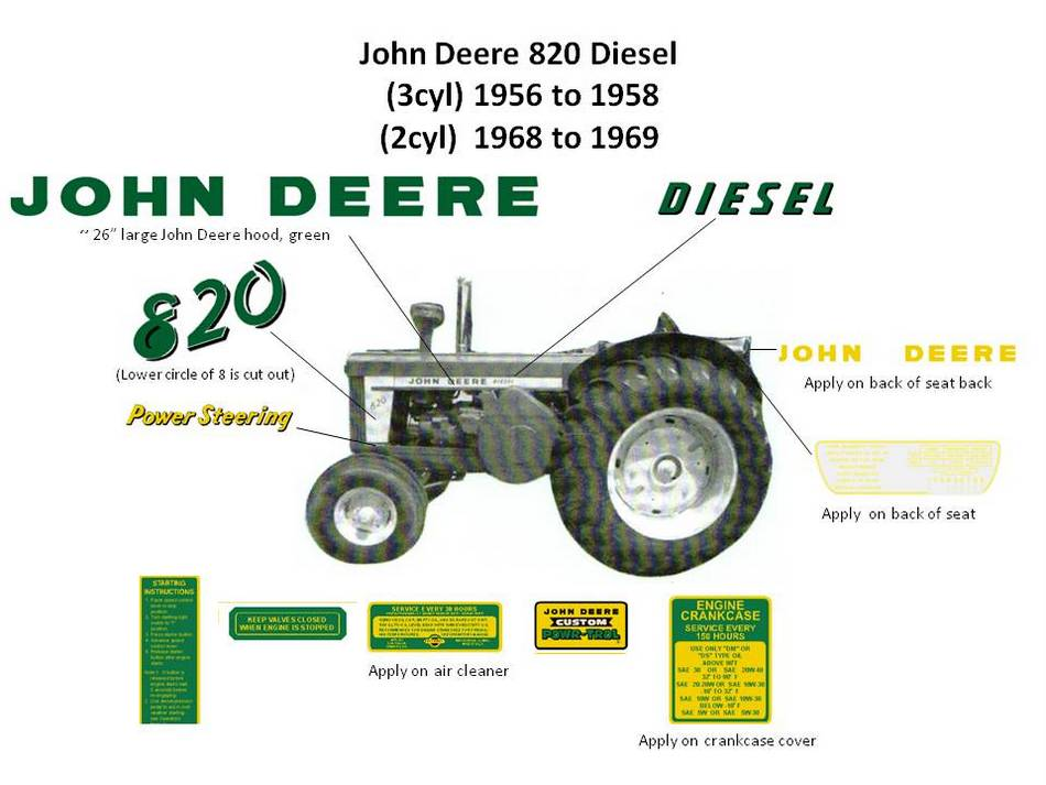 john deere 820 diesel. Black Bedroom Furniture Sets. Home Design Ideas